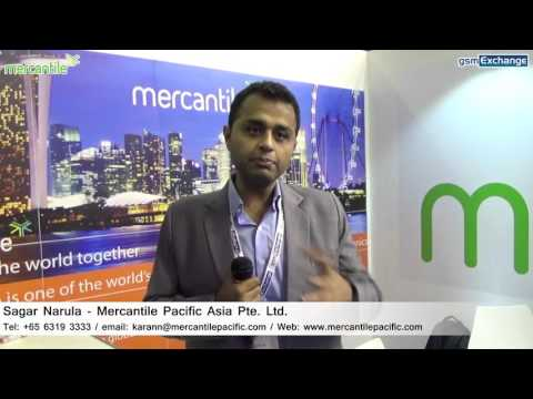 Mercantile Pacific Asia Pte  Ltd  Interview   gsmExchange tradeZone @ GITEX 2015