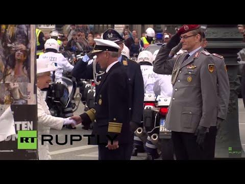 LIVE: Elizabeth II to visit Bergen-Belsen concentration camp in Germany