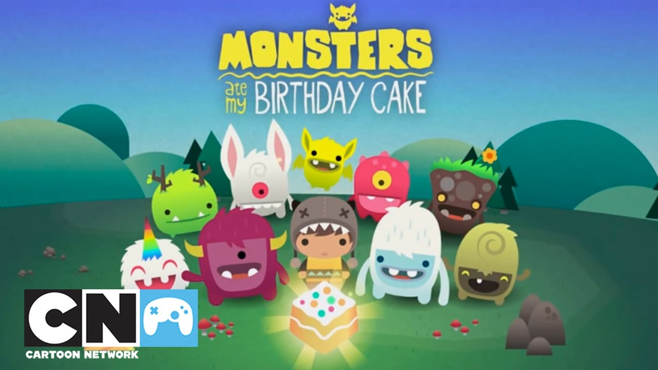 Monsters Ate My Birthday Cake Mobile App Cartoon Network Youtube