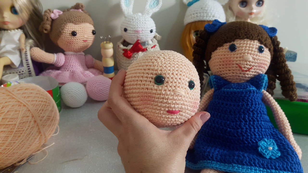 Branca de Neve Amigurumi - Parte 01 | Cantinho do Video | 720x1280