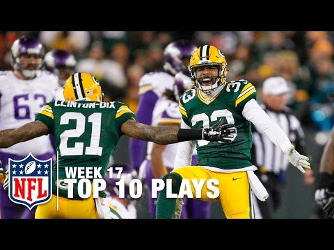 Top 10 Plays (Week 17) | NFL Highlights