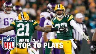 Top 10 Plays (Week 17) | NFL Highlights