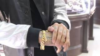 Famous Rapper Tyga Buying Jewels at Rafaello and Company