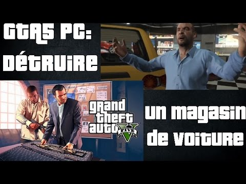 gta5 pc d truire un magasin de voiture youtube. Black Bedroom Furniture Sets. Home Design Ideas