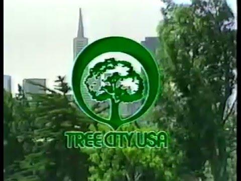 80's Ads: Tree City USA Arbor Day Foundation 1986