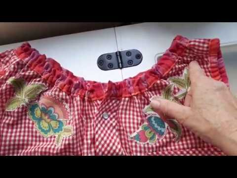 Upcycling Fun: From His Cowboy Shirt to Her Terrific Tunic