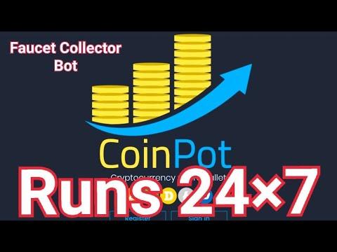 Faucet Collector bot | Coinpot & FaucetHub | coinpot rotator