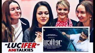 LUCIFER Trailer Reaction | RUSSIA | Prithviraj | Mohanlal | Vivek Oberoi | AniTalkies