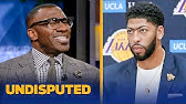 Shannon Sharpe says Lakers win projections are 'disrespectful,' predicts 56 winsNBAUNDISPUTED