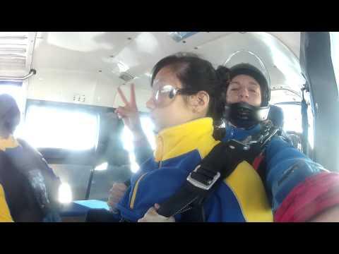 Skydiving at York, Perth, Western Australia.
