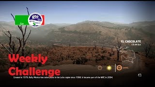 WRC 7-Rally Mexico-El Chocolate-Weekly Challenge