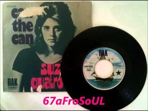 ✿ SUZI QUATRO  Can The Can 1973 ✿