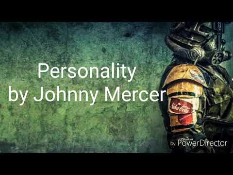 Lyric Video- Personality by Johnny Mercer