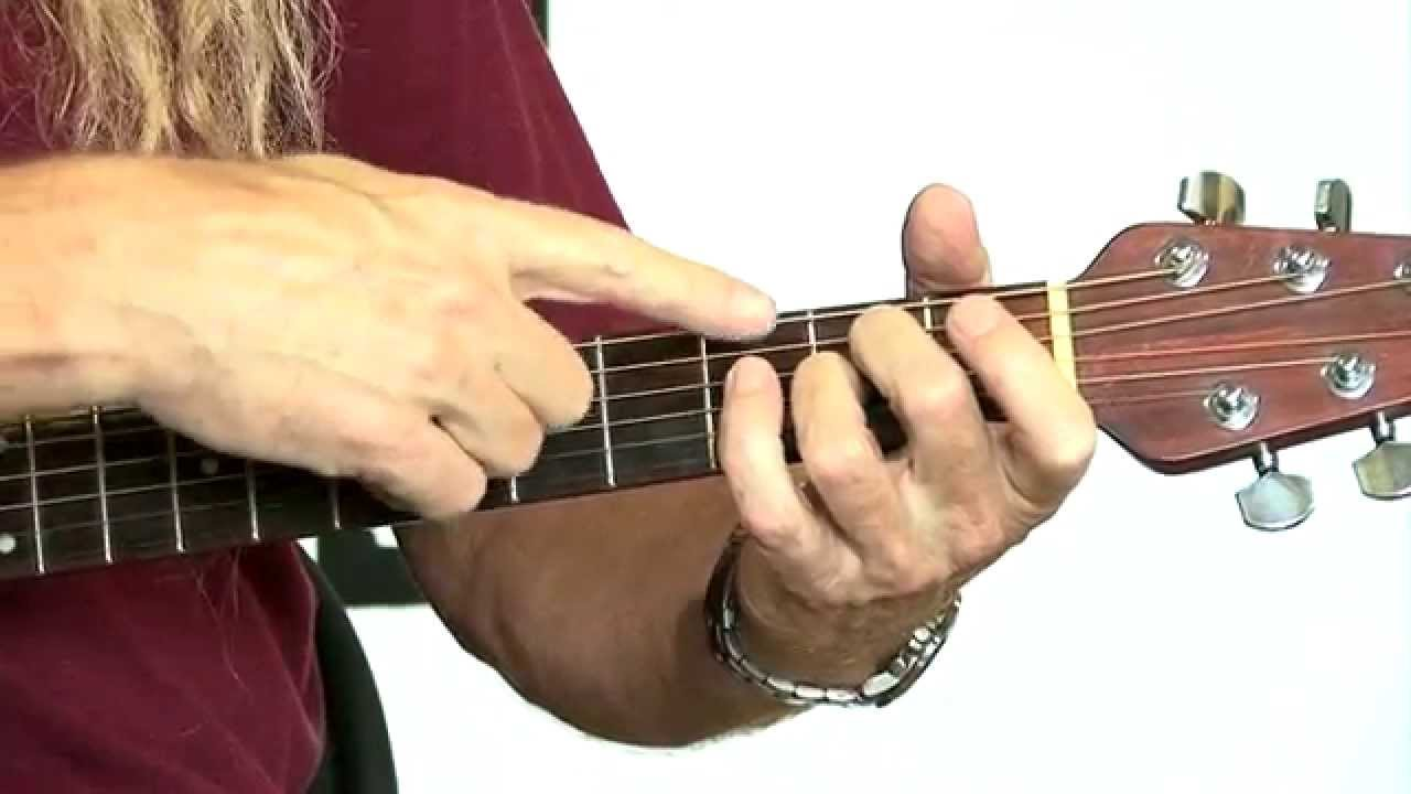 How To Play A2 Chord Guitar Lessons Youtube