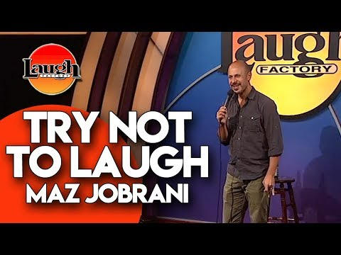 Try Not to Laugh  Maz Jobrani  Laugh Factory Stand Up Comedy