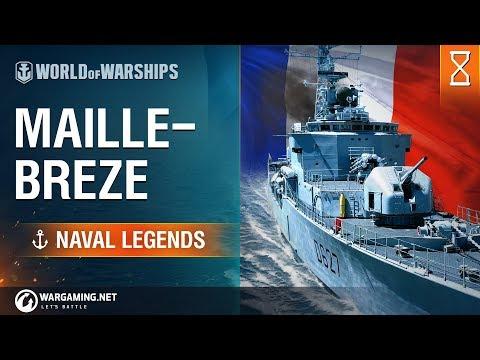 [World of Warships] Naval Legends: Maillé-Brézé