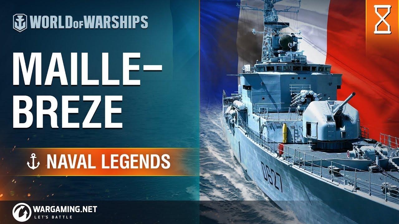 Naval Legends: Maillé-Brézé | World of Warships - YouTube