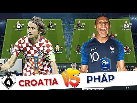 FIFA ONLINE 4 | Mbappé So Tài Modric Tái Hiện CHUNG KẾT WC2018: PHÁP Vs CROATIA | EURO ĐẠI CHIẾN