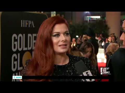 Debra Messing DRAGS E! while being interviewed by E!