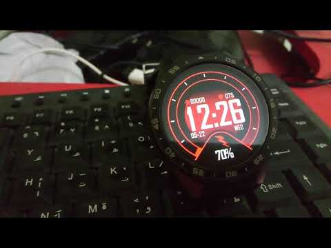 Official Amazfit 2 watch faces, clock skin, for full android watch