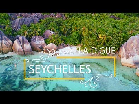 Seychelles 4K drone | La Digue | Anse Source d'Argent