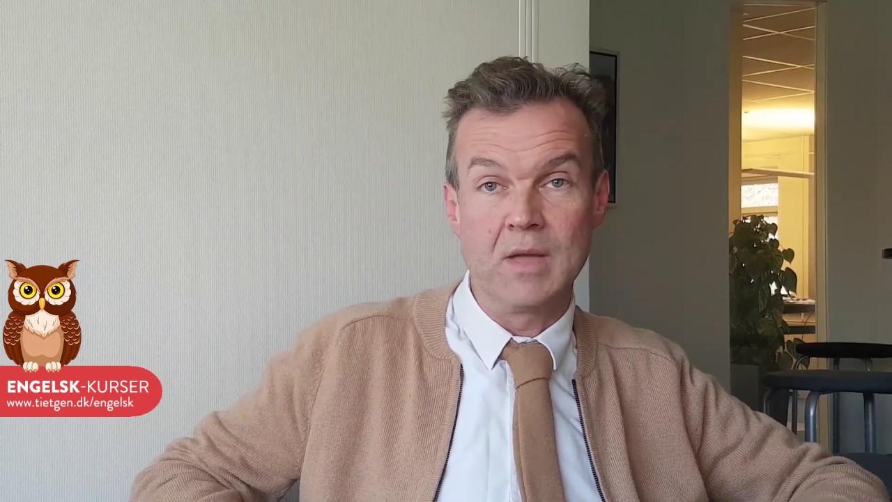 Engelsk-kursus på Tietgen med Roy Sørensen
