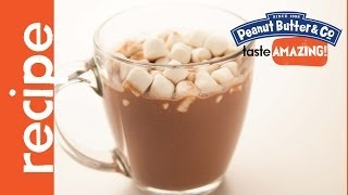 Bourbon Peanut Butter Hot Chocolate Recipe