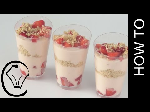 Mini Strawberry Cheesecake Dessert Cups by Cupcake Savvy's Kitchen