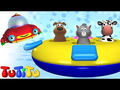 TuTiTu Toys | Pop-up Animals Toy