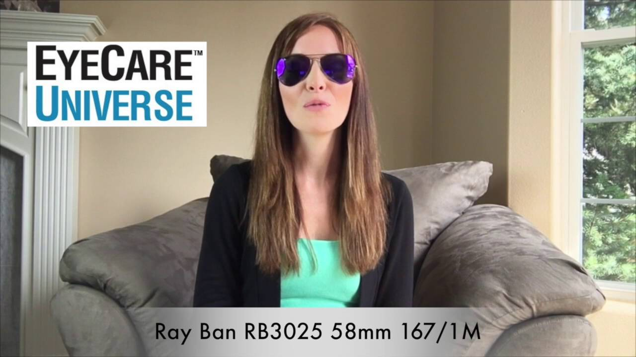 rb3025 58mm  Ray-Ban RB3025 58mm 167/1M - YouTube