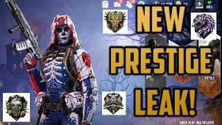 NEW PRESTIGE MODE LEAKED! - Call of Duty Mobile