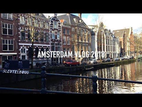 Vlog Amsterdam Weekend 2018 | 阿姆斯特丹周末 | Mademoiselle WU