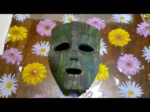 La réplica de la máscara de Loki (La máscara Jim Carrey)