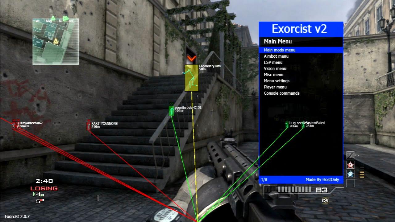 PS3 - [MW3/1 24] Exorcist v1 & v2 Non-Host + Pre-Game SPRX