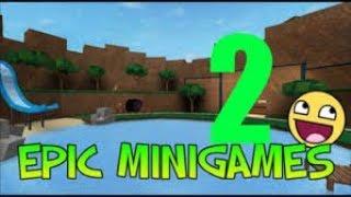 Roblox Epic Minigames [PART 2] [ZaBaM CZE]