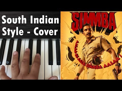 Simmba Theme Music | South Indian Style | Cover On Keyboard