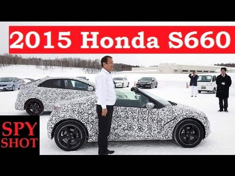 2015 Honda S660 Spy Shot !