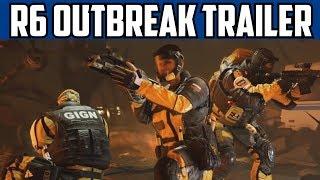 Rainbow Six Siege Outbreak Official Launch Trailer & Walkthrough guide R6 Invitational Reveal
