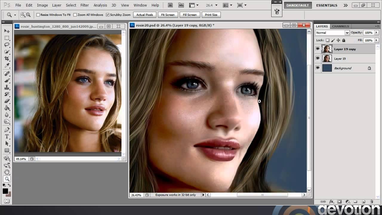 Digital portrait painting in photoshop rosie h whitely part 33 digital portrait painting in photoshop rosie h whitely part 33 youtube baditri Image collections