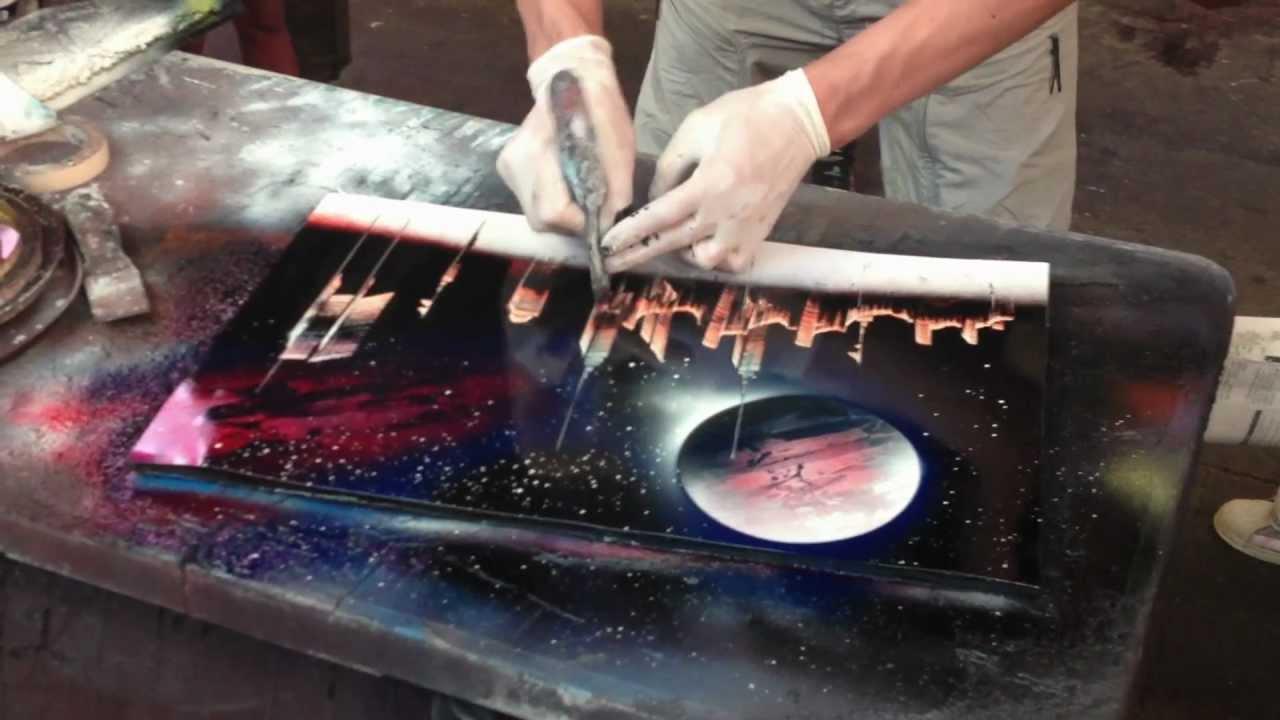 nyc spray paint street artist