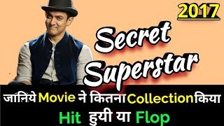 Aamir Khan SECRET SUPERSTAR 2017 Bollywood Movie LifeTime WorldWide Box Office Collection