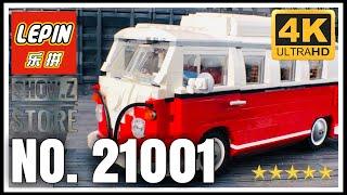 LEPIN 21001 Lego Creator Expert T1 Split Screen Volkswagen Campervan 10220