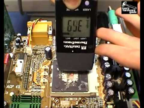 What Happens when the CPU cooler is removed? (Tom