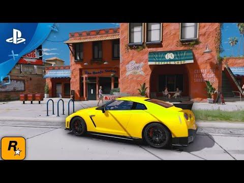 GTA 6 - FIRST DEMO GAMEPLAY   Rockstar Games 2017 (4k)