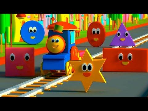รถไฟบ๊อบ – ผจญภัยไปกับรูปทรง |  BOB THE TRAIN – ADVENTURE WITH SHAPES