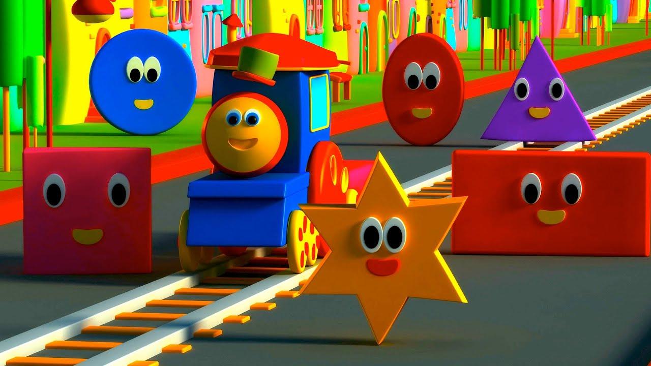 รถไฟบ๊อบ ผจญภัยกับรูปร่างต่างๆ Bob The Train