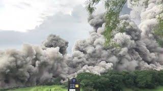 グアテマラ火山噴火 過去100年以上で最も激しく