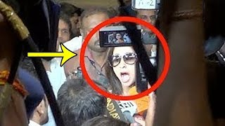 OMG! Urmila Matondkar MOBBED By Fans At Mumbai Airport Latest | FWF