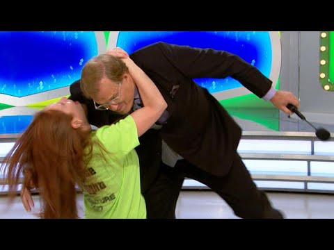 'Price Is Right' Audience Member Tackles Drew Carey to the Ground  Watch the Embarrassing Momen…