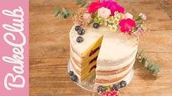 Naked Cake | Hochzeitstorte | BakeClub